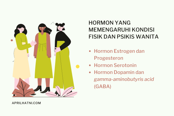 hormon yang memengaruhi fisik dan psikis wanita