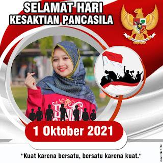Twibbone Hari Kesaktian Pancasila 1 Oktober 2021