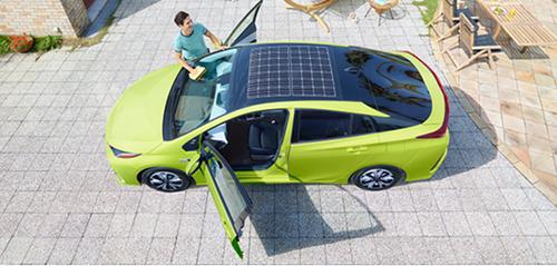 Toyota тестуватиме Prius на сонячних батареях