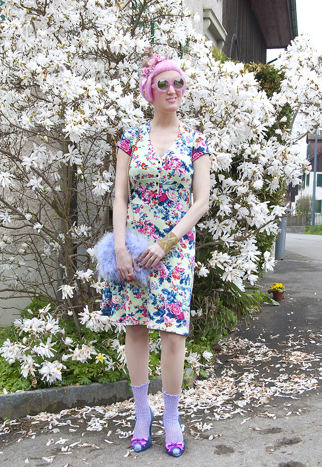 streetstyle blogger, retro style, vive maria dress