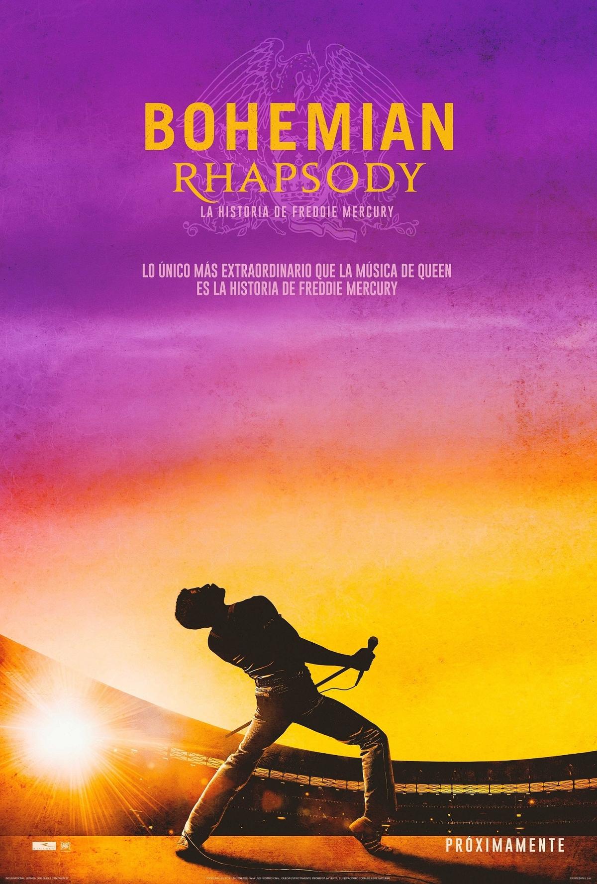 Nuevo Teaser Poster De Bohemian Rhapsody