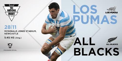 Programa oficial - Los Pumas vs All Blacks #TriNations2020