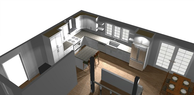 kitchen rendering for rancher