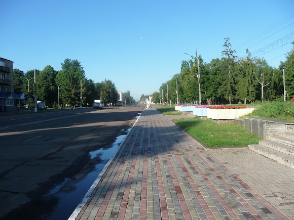 Конотоп. Проспект Мира