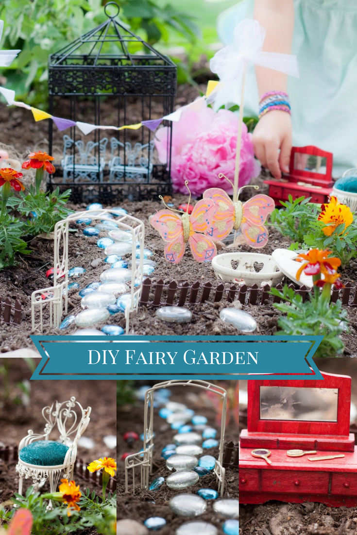 baby chair 1 year old hair on hide office do it yourself divas: diy fairy garden