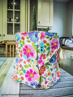 gaslighthouse.blogspot.com Catherine Batac Walder sewing, fabric flower pot, children, home, family, Singer