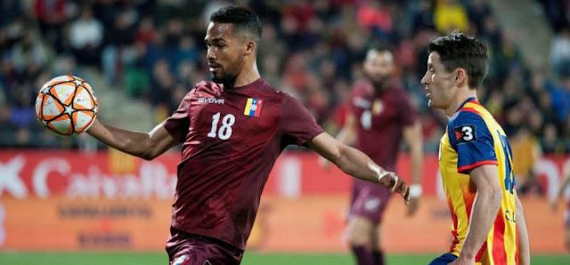 DEPORTE: Cataluña ganó 2-1 a Venezuela este lunes en el último suspiro de un partido amistoso disputado en Girona.