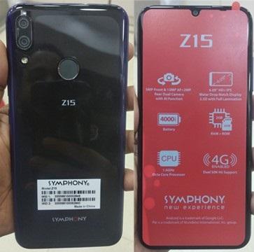 Symphony Z15 Flash File