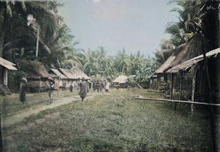 perkampungan padang sidempuan dan fort de kock