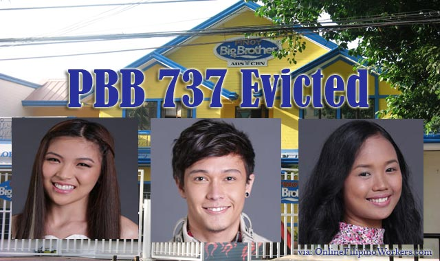 Meet The Latest Evictee Of PBB 737, Mikee Agustin Charlhone Petro and Krizia Lusuegro