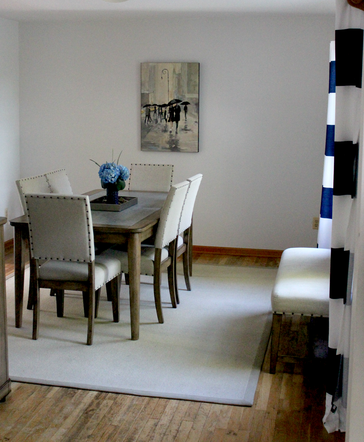Pieces Of A Mom The Big Reveal Dining Room Makeover With Raymour Flanigan