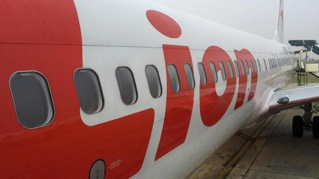 Hujan Deras, Lion Air Tergelincir