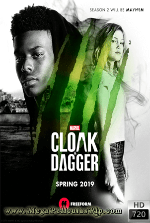 Cloak And Dagger Temporada 2 [720p] [Latino-Ingles] [MEGA]
