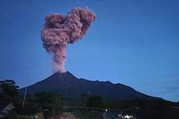 6 Gunung di Indonesia Erupsi hampir bersamaan