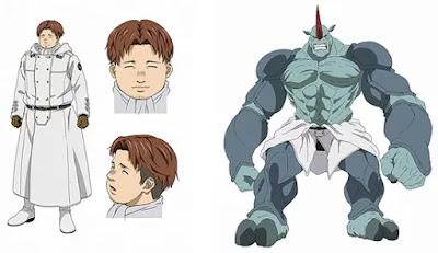 Shinnosuke Tachibana interpretará a Daniel (Spriggan). Tachibana fue previamente revelado para jugar con uno de los compañeros soldados de Hank y Cain Incarnate.