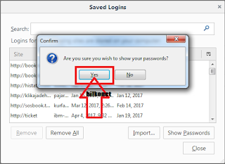 Langkah 6 Cara Melihat Password Yang Tersimpan Di Browser Mozilla Firefox