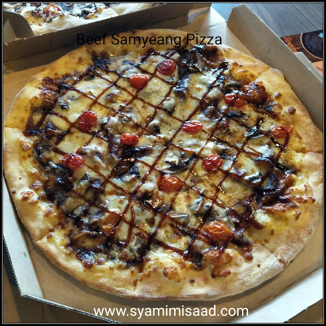 Beef Samyeang Pizza