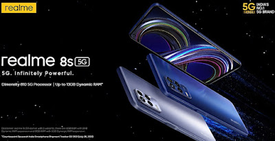 هاتف Realme 8s 5G - ريلمى 8 إس 5 جى