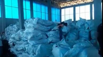 Masih Jadi Misteri, Pemilik Ratusan Bal Pakaian Bekas, Di Kota Dumai