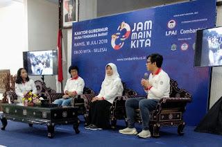Program Jam Main Kita Perluas Gerakan Ke Nusa Tenggara Barat
