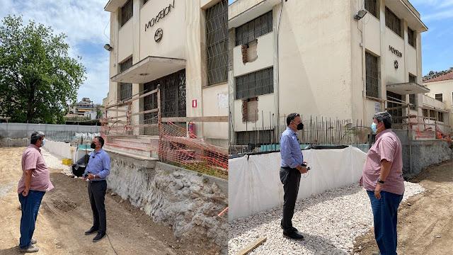 """""""Στενή"""" παρακολούθηση των εργασιών στα μνημεία της Αργολίδας από τον Γ.Διδασκάλου"""