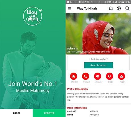 aplikasi cari jodoh islami way to nikah