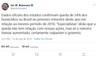 Twitter do Bolsonaro