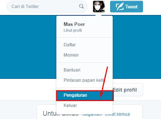 Cara Mengganti ID Twitter