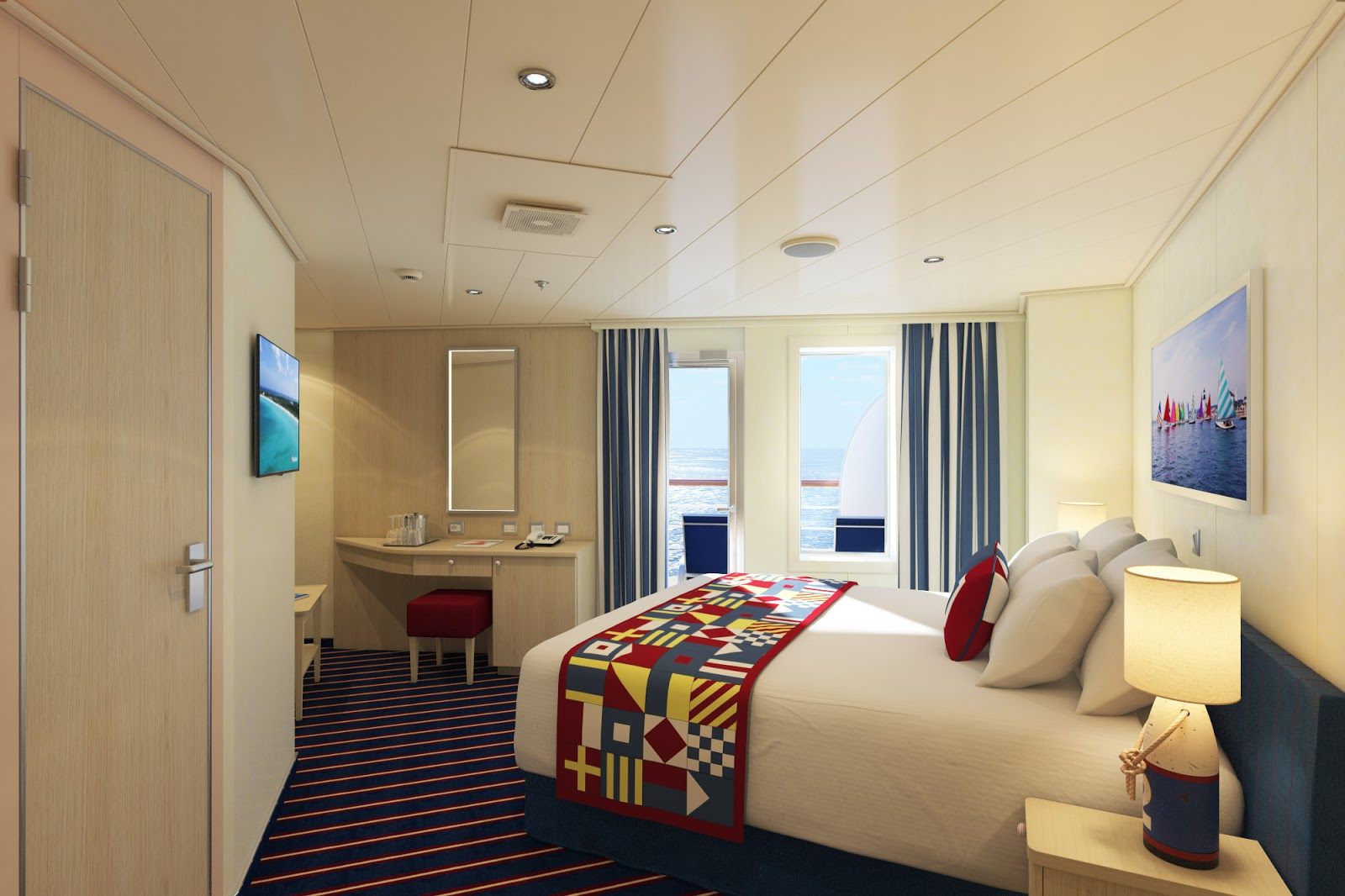 Cruise diva carnival horizon to feature new aft view for Balcony features