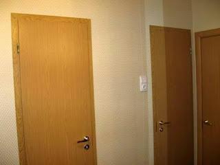 Расширение проема в ванную, туалет, 137 серия
