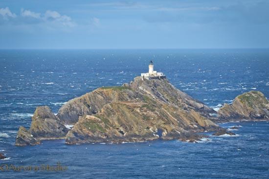 シェトランド ウンスト島 灯台