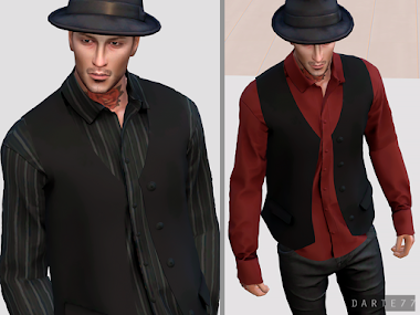 Long Sleeve Shirt and Vest - Early Access