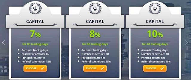 Yesss Capital - прибыльные инвестиционные планы