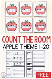 Resource from Fun Learning for Kids and perfect for Johnny Appleseed Day