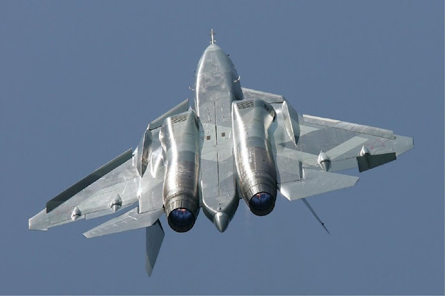 Russian Su-57 Paris Air Show