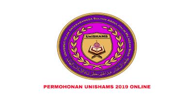 Permohonan UniSHAMS Sesi Jun 2019 Online