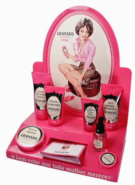 produtos granado linha pink