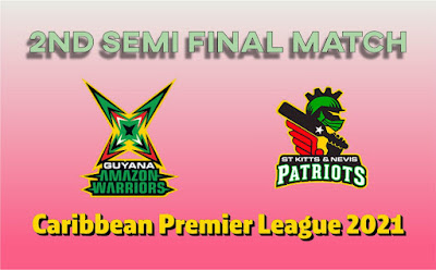 CPL T20 Nevis Patriots vs Guyana 2nd Semi Final Match Who will win Today Astrology