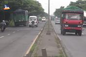 Hari Pertama PPKM Di Lamongan, Jalur Pantura Lengang