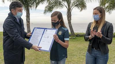 """San Isidro reconoció a la futbolista Zoe Puente como """"vecina ejemplar"""" San-Isidro-reconocio-a-la-futbolista-Zoe-Puente-como-vecina"""