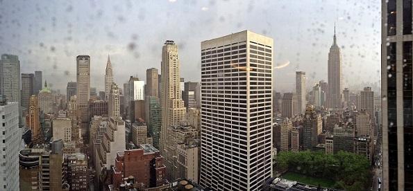 Rainy day in NYC.