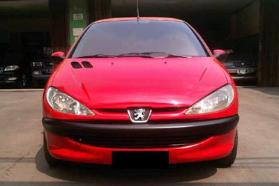 Eksterior Peugeot 206