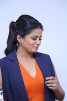 Priyamani in Beautiful Short Deep neck Orange Dress ~  Exclusive 57.JPG