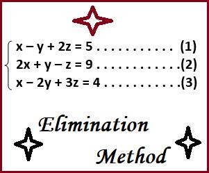 Cara Penyelesaian Persamaan Linear Tiga Variabel Metode Eliminasi