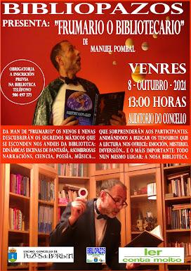 """""""FRUMARIO O BIBLIOTECARIO"""" con MANUEL POMBAL"""