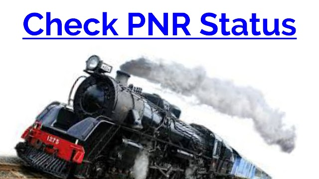 Pnr Status, Pnr Status with Name, Check Pnr Status
