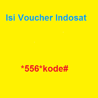 Memasukkan Voucher Indosat
