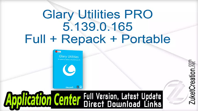 Glary Utilities PRO 5.139.0.165 Full + Repack + Portable