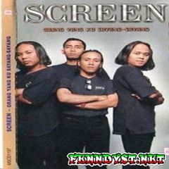 Screen - Orang Yang Ku Sayang-Sayang (1999) Album cover