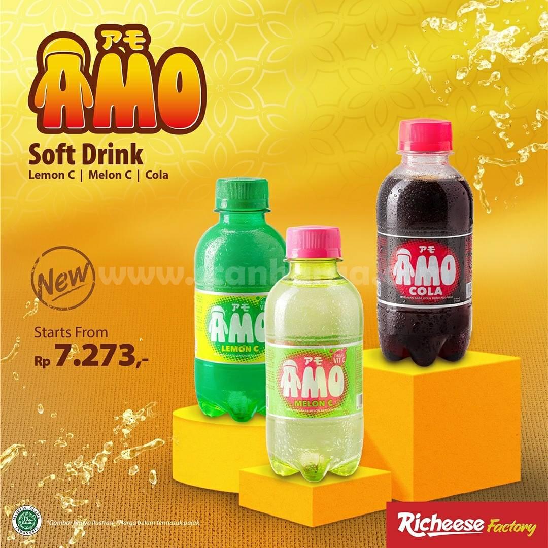 Richeese Factory Promo Combo AMO + 1 Fire Chiken + 1 Nasi hanya Rp 30 Ribuan